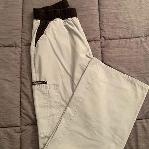 Cherokee Scrub pants gray Small